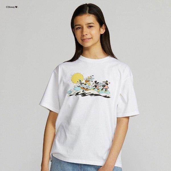 Mickey Aloha UT 联名T恤