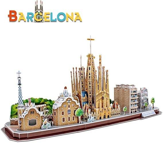 3D拼图 巴塞罗那