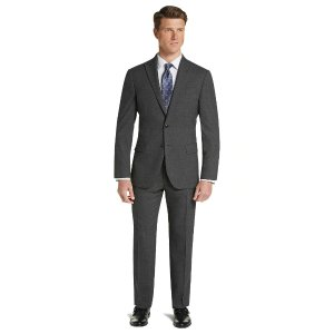 Buy 1 Get 1 Free1905 Collection Slim Fit Mini Check Suit with brrr° Comfort - 1905 Suits | Jos A Bank