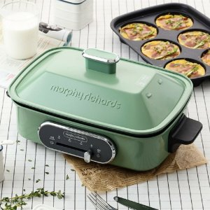 5折起 收电热水壶Morphy 厨房家电 封面同款多功能锅$189