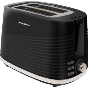 morphy richards面包机 220026 2 Slice Toaster - Black