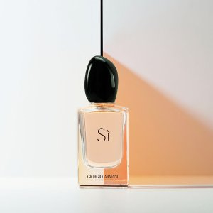 Giorgio Armani买90ml送30ml男士香水/挚爱女香水玫瑰丝绸