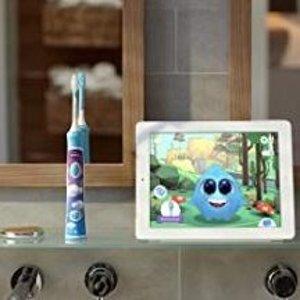 $44.99包邮 (原价$59.99)飞利浦 Sonicare 蓝牙连接电动儿童牙刷 黄多多同款