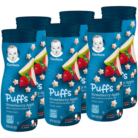 Save $5 when you spend $20 + 5% OffGerber Baby & Kids Food and More Sale