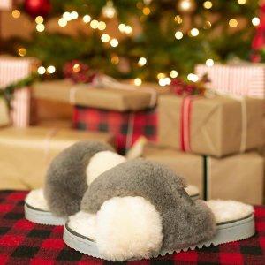 一律5折独家:Dearfoams 冬日雪地靴、毛毛拖专场 封面款$25