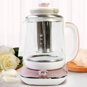 Dealmoon Exclusive: AROMA Glass Electric Water Kettle Healthy Tea Kettle 1.5L