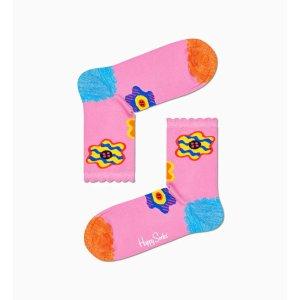 Happy Socks花朵袜