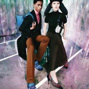 部分美包美鞋6折PRADA Miu Miu 精选单品折扣大促 气质甜美的时尚碰撞