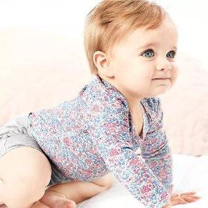 今3倍积分 低至4折+满额8折+送券Carter's官网 婴、幼儿服饰半年度大促+全季最低Doorbuster
