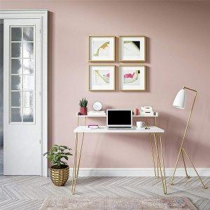 史低价:Ameriwood Home 简约风格写字桌