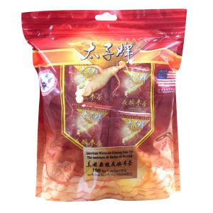 太子牌【原枝花旗参茶】, 超值袋装 ,100茶包