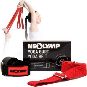 低至6.4折 仅需€6.37起NEOLYMP 健身用品专场热促 收瑜伽带、健腹轮