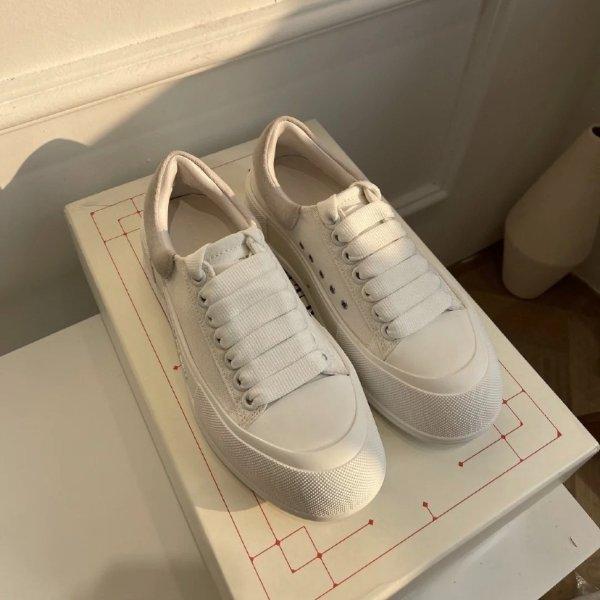 Deck 新款小白鞋