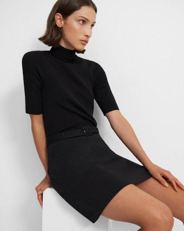 羊毛连衣裙