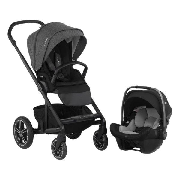 2019版 NUNA MIXX 童车和 PIPA 汽车座椅套装 好价回归