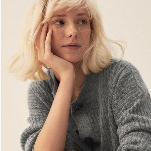 3折起 £5就收必备开衫H&M 新款毛衣、开衫大促 法式高级优雅在此