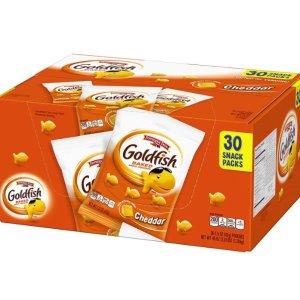 $7.98 for 30 Snack PacksPepperidge Farm Goldfish Cheddar Crackers