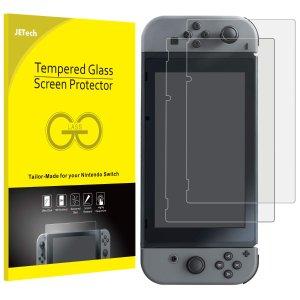$6.78(原价$19.99)JETech Switch游戏机 钢化膜两只装