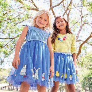 满额8折 免费退货Mini Boden 2018 早春童装新上市,人见人爱的高颜值+高品质