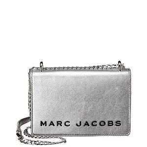 Marc JacobsDouble Take Metallic Leather 链条挎包