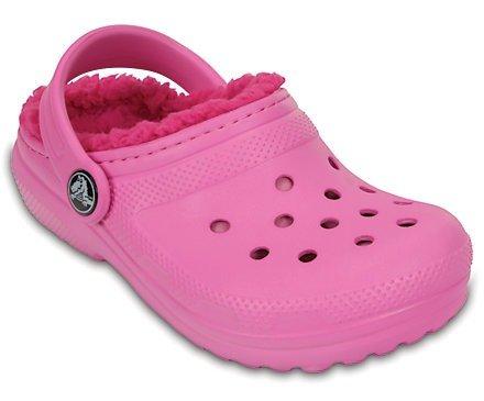 儿童经典绒里洞洞鞋