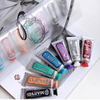 英国直邮¥130Marvis 多种味道牙膏礼盒 25ml*7支装