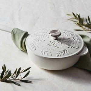 $250 新品上市Le Creuset 橄榄枝系列2.25夸脱珐琅铸铁锅