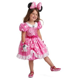 DisneyMinnie Mouse Costume for Kids - Pink | shopDisney