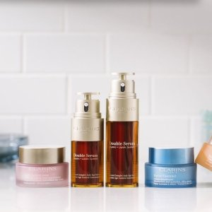 Free Gift ($87 value)with purchase of $100 + Free shipping @ Clarins