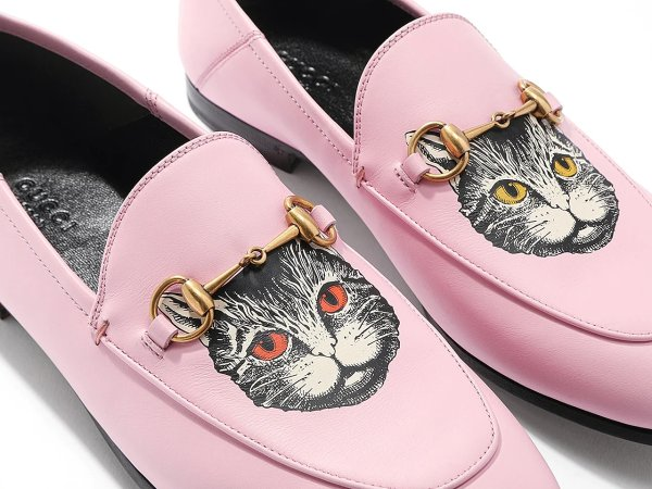 女士小猫乐福鞋