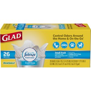 $9.09Glad OdorShield Small Trash Bags