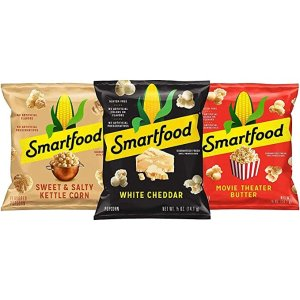 SmartfoodPopcorn, Variety Pack 0.5oz Bags, (18 Pack)