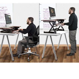 Today Only: Halter ED-258 Preassembled Height Adjustable Desk Sit/Stand Desk Elevating Desktop @ Amazon.com