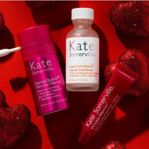 Receive a complimentary Love Your Skin Trio ($42 value)with any $120+ purchase @Kate Somerville