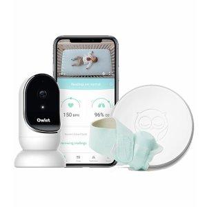 立减$50 防宝宝猝死综合症Owlet 智能婴幼儿监视系统特卖 可追踪心率和氧气水平