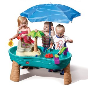 $63Step2 Splish Splash Seas Water Table with Umbrella