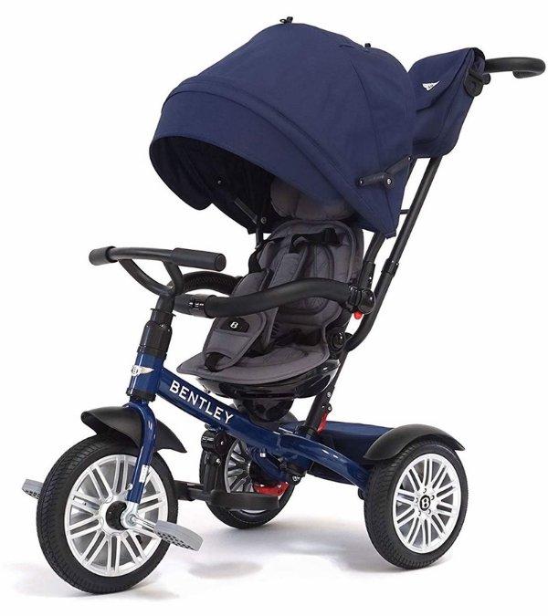 6合1宝宝童车/儿童三轮车 海军蓝