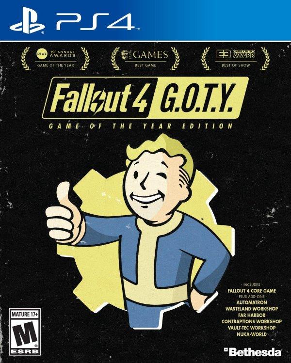 辐射4 年度版 PS4 实体版