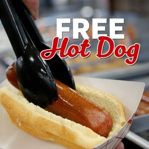 Free Hot DogLove's National Hot Dog Day Event