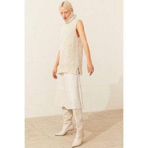 H&M高领毛衣背心