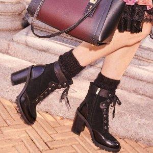 低至5折+额外8.5折 乐福鞋$74Coach 鞋履折扣区好价 Celine平替翻毛长靴$144 骑士靴$117