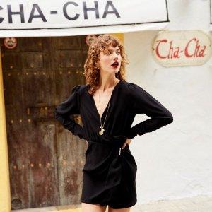 低至2折+额外9折最后一天:The Kooples 季末大促 法式美衣 女明星的私服宠儿