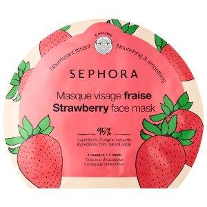 新品!草莓面膜1片