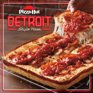 底特律式深盘披萨$10.99起上新:Pizza Hut 限时推出 Meat Lover披萨$14.9 晚餐盒$23.9