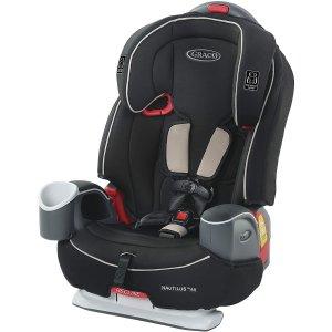 $199.97(原价$299.99)史低价:Graco Nautilus 65 3合一成长型 儿童安全座椅 内置5点安全带