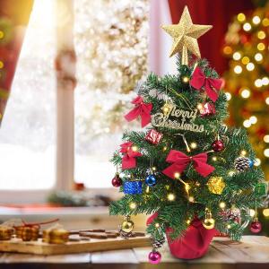 £4起收梦幻迷你树Amazon 精选桌上圣诞树热促中 小房间也能拥有哦