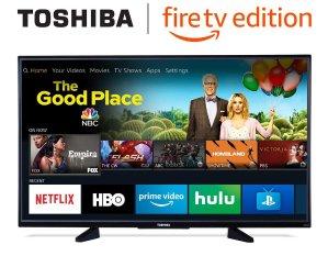 $289.99 包邮手慢无:Toshiba 50寸4K超高清智能电视 (带Fire TV)