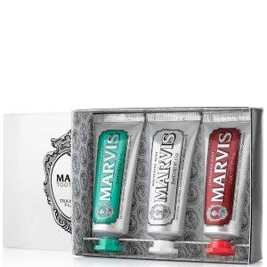 Marvis牙膏三件套3x25ml