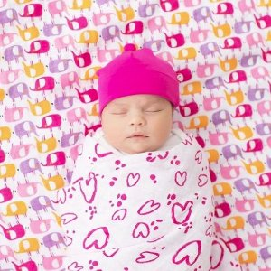 7折+额外7.5折即将截止:Zutano 宝宝纱布包巾、小毯子特卖 平价好货,A+A绝佳替代款