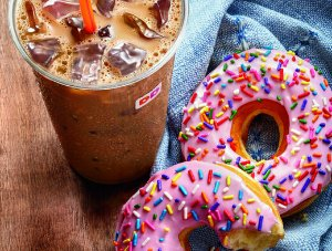只需$5!Dunkin' Donuts面值$10礼卡